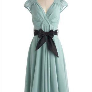 [ModCloth] Mint Swing Dress